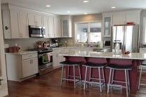 Eden Prairie Minnesota kitchen renovation features CliqStudios Dayton Painted Urban Stone cabinets