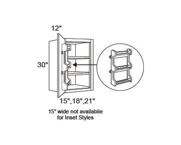 WALL | Standard | Spice Rack | 12