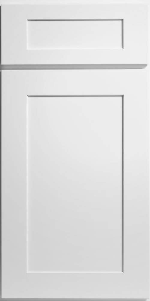 CliqStudios Dayton style cabinet in white.