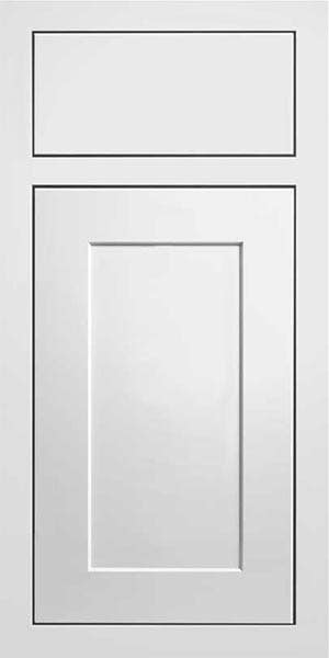 CliqStudios Austin cabinet in white.