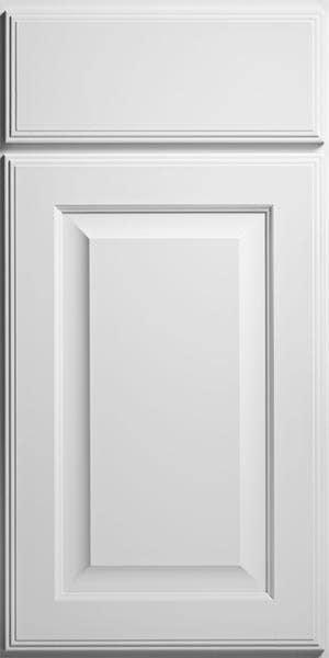 CliqStudios Bayport cabinet in white.