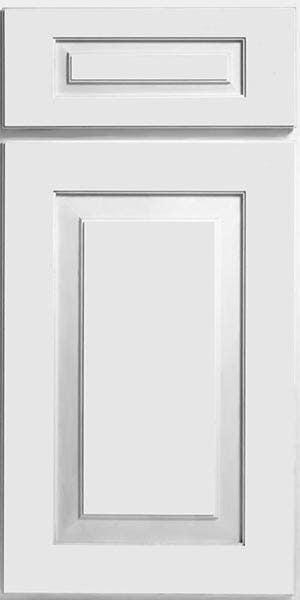 CliqStudios Cambridge cabinet in white.