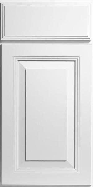 CliqStudios Carlton cabinet in white.