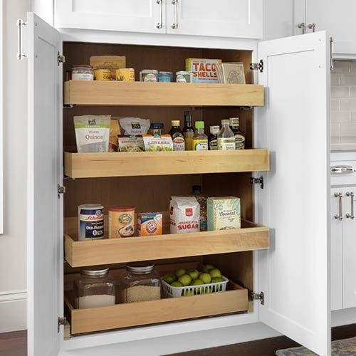 Kitchen Pantry Storage Ideas To Organize Your Cabinets