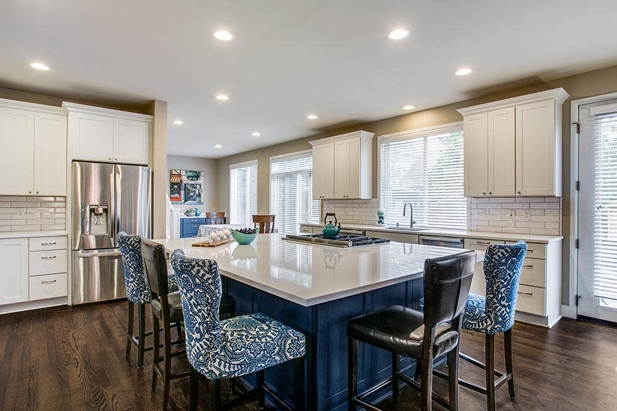Painted Kitchen Cabinets Add Style To Your Design