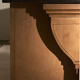 Craftsman Shelf Support