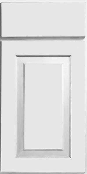 CliqStudios Mendota cabinet in white.