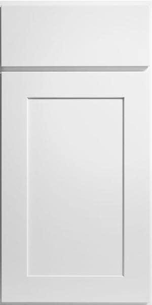 CliqStudios Rockford style cabinet in white.