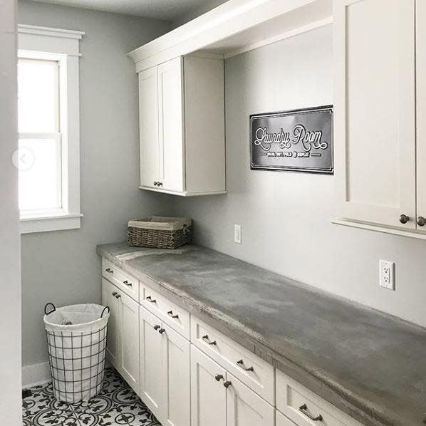 modern farmhouse kitchen and bathroom