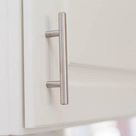 Whats the proper placement for cabinet knobs and pulls?