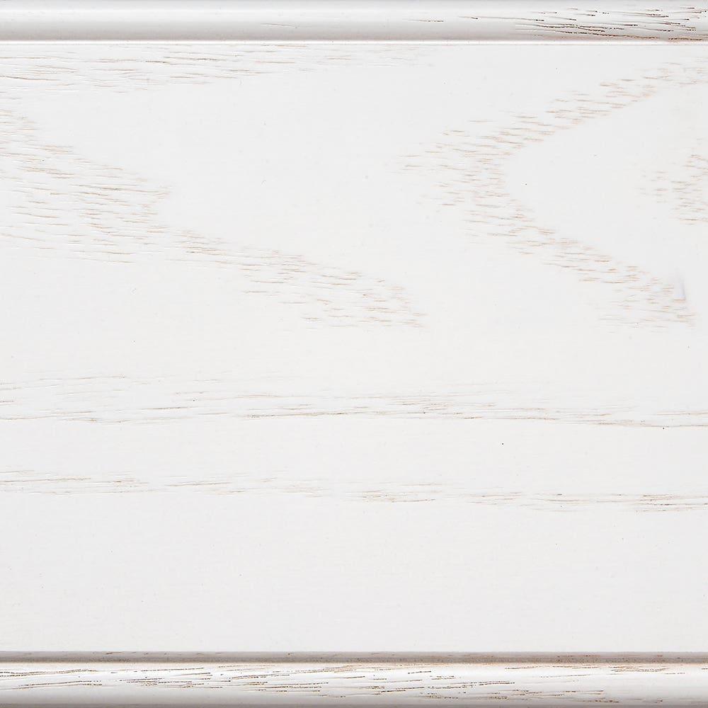 Oak Cottage White Sheer