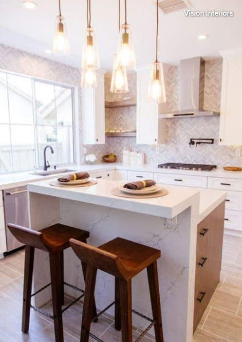 Houzz Kitchen of the Week: Asymmetry Creates a Standout Space