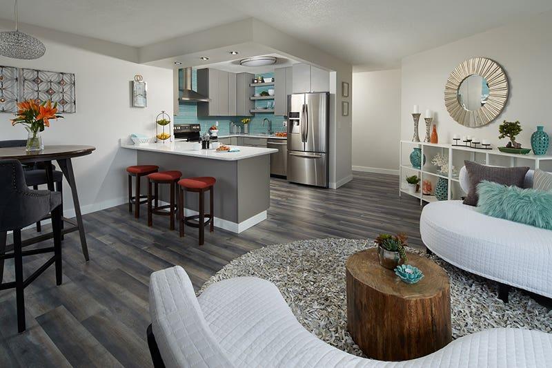 modern gray cabinets euro condo design