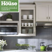 Find out about cabinet types, components, materials, and more.