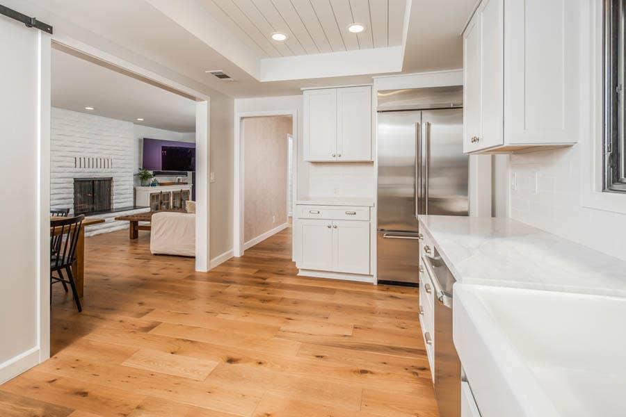 Dayton White Kitchen Cabinets