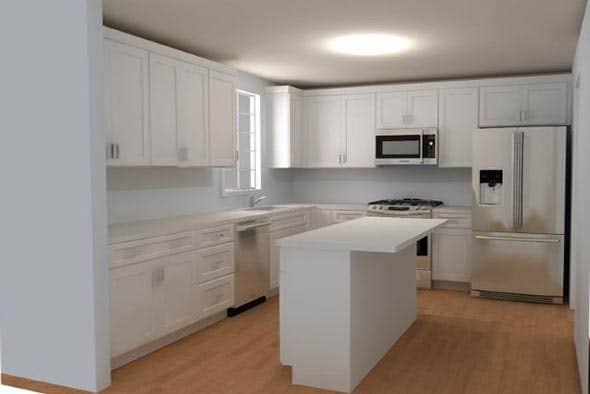 Cliqstudios rendering kitchen