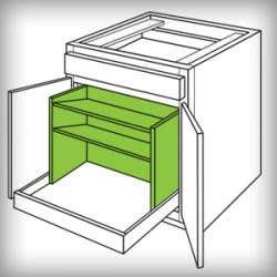 CliqStudios Pots and Pans Organizer Accessory
