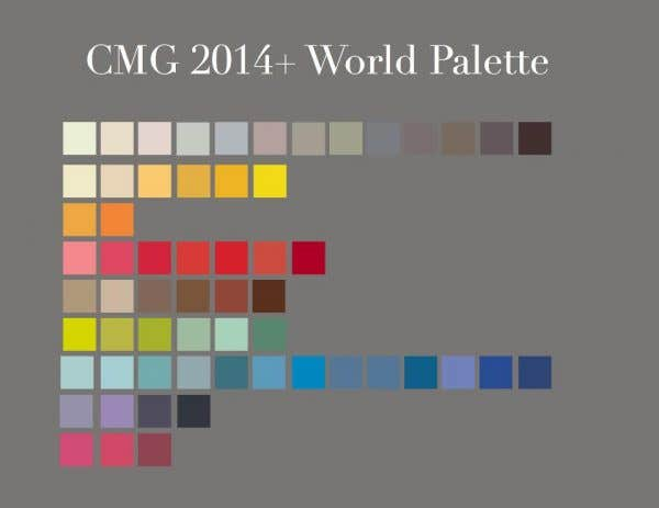 CMG 2014+ World Palette
