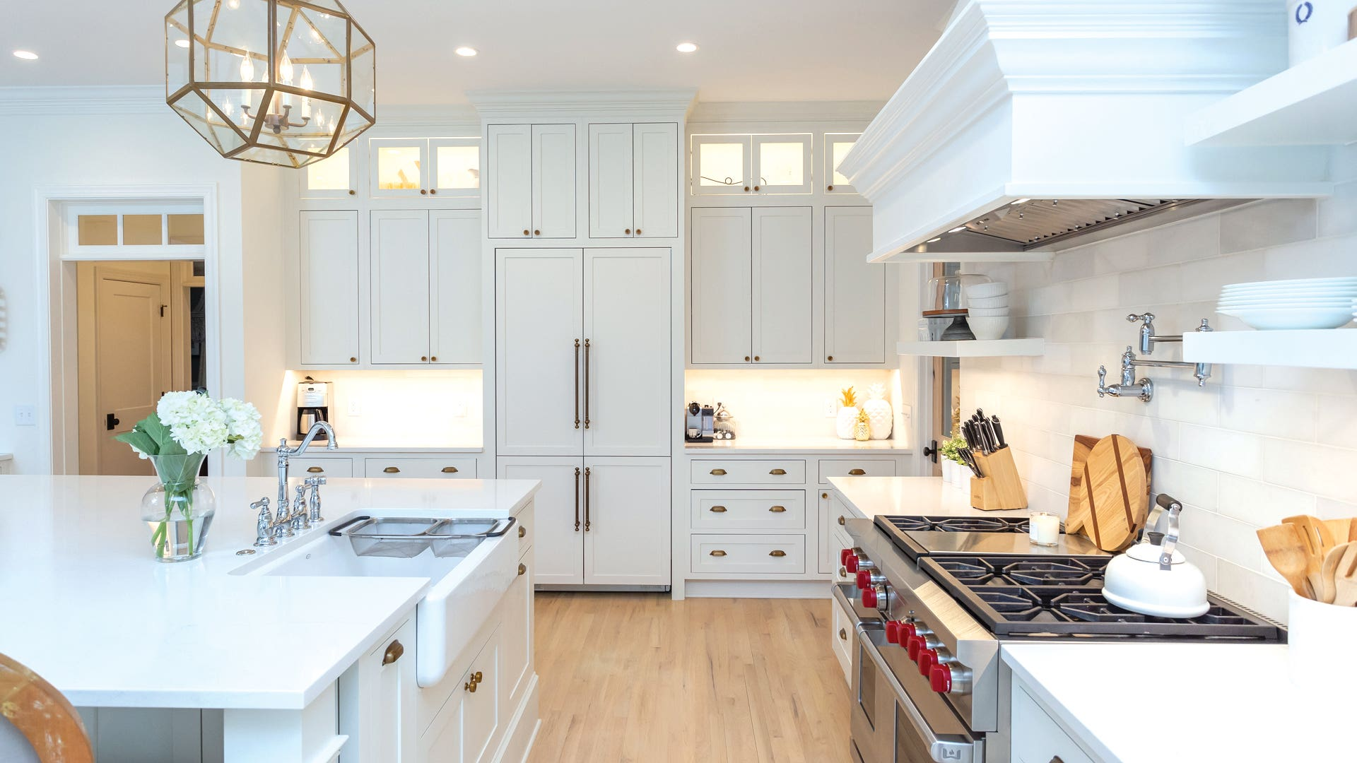 Signature Line Austin Inset Cabinets in White