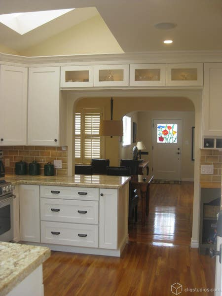 CliqStudios.com Dayton Painted White Cabinetry 2