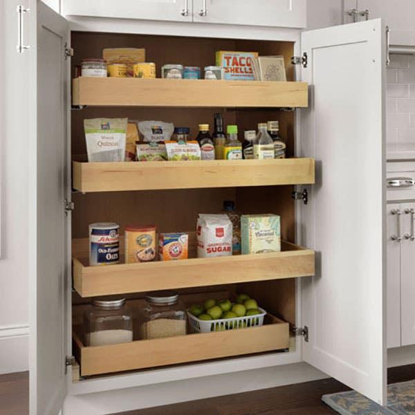 Cliqstudios dayton white pantry