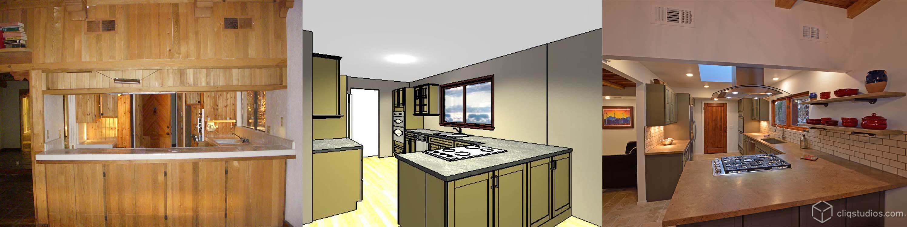 CliqStudios.com kitchen remodel