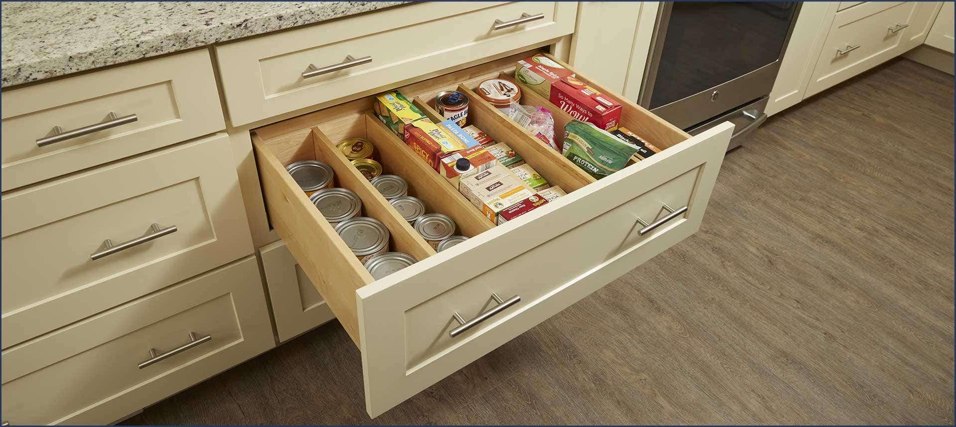 Multi-storage drawer