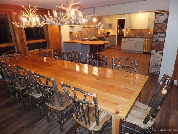 Dayton Painted Harbor Kitchen Cabinets