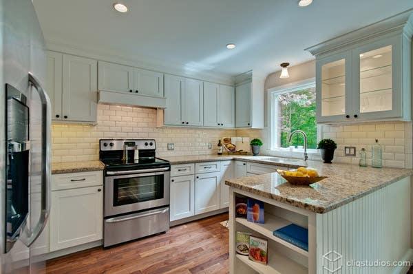 White Shaker Kitchen Simone Development