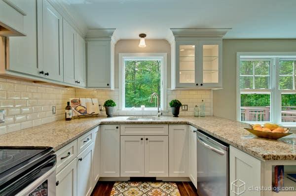 White Shaker Kitchen Sink Simone Development