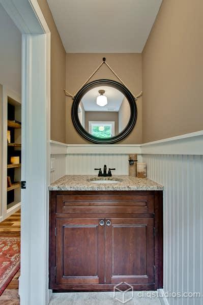Inset Cabinetry Bath Vanity Simone Development