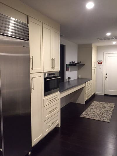 butler pantry cabinets and entry in southern california contemporary craftsman home