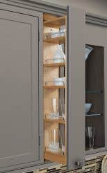 Pull-Out Spice Rack Wall Cabinet