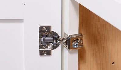 Hinges are an important cabinet part and their quality varies greatly
