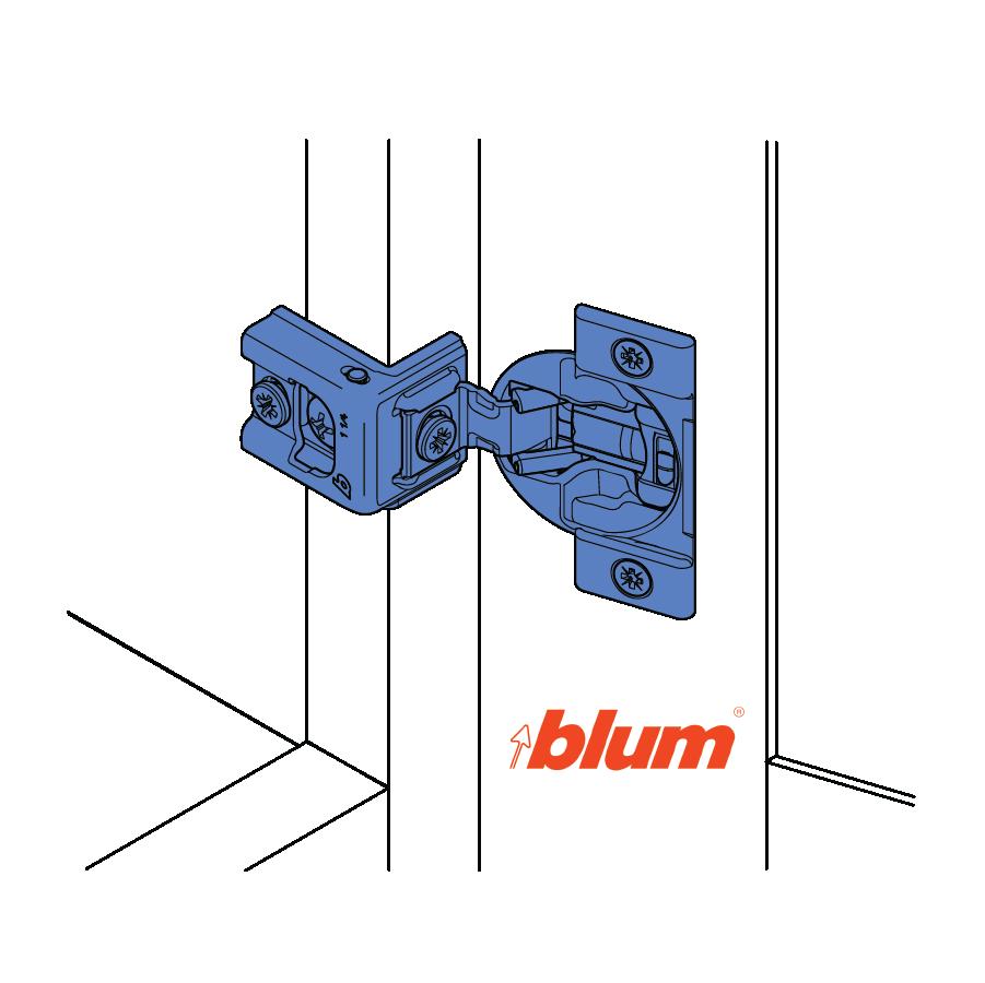 Blum® Soft-Close Hinges